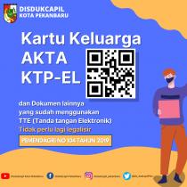 KTP-el dan Format Digital Tidak perlu Legalisir